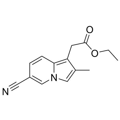 ethyl 2-(6-cyano-2-methylindolizin-1-yl)acetate
