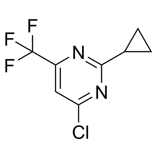 4-chloro-2-cyclopropyl-6-(trifluoromethyl)pyrimidine