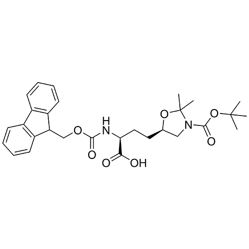 5-Oxazolidinebutanoic acid, 3-[(1,1-dimethylethoxy)carbonyl]--[[(9H-fluoren-9-ylmethoxy)carbonyl]amino]-2,2-dimethyl-, (