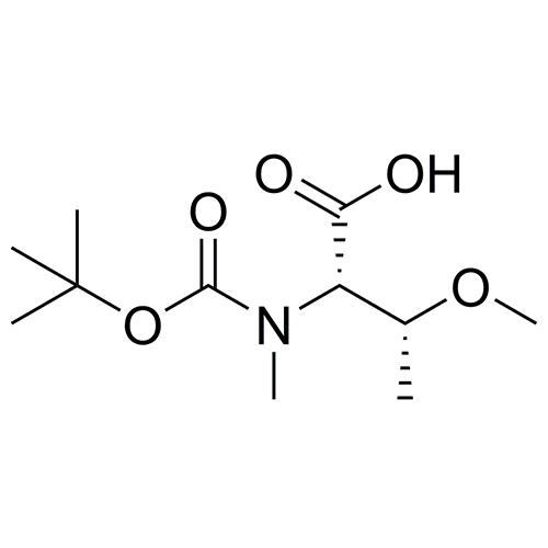 (2S,3R)-2-{[(tert-butoxy)carbonyl](methyl)amino}-3-methoxybutanoic acid