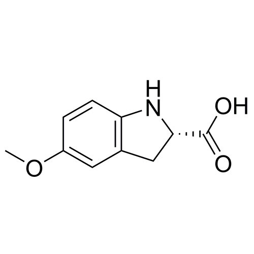 (2S)-5-methoxy-2,3-dihydro-1H-indole-2-carboxylic acid