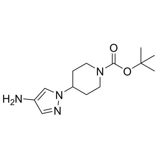 tert-butyl 4-(4-amino-1H-pyrazol-1-yl)piperidine-1-carboxylate