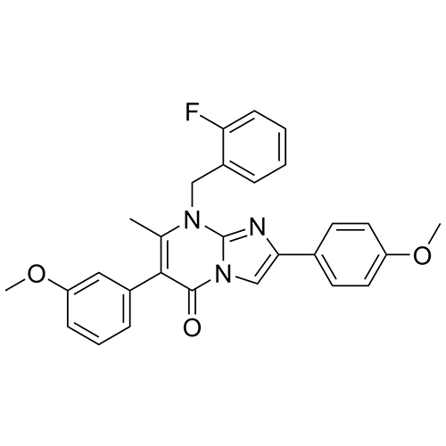 8-(2-fluorobenzyl)-6-(3-methoxyphenyl)-2-(4-methoxyphenyl)-7-methylimidazo[1,2-a]pyrimidin-5(8H)-one