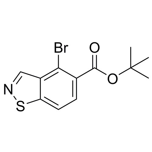 tert-butyl 4-bromobenzo[d]isothiazole-5-carboxylate