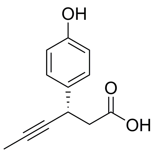 (3S)-3-(4-hydroxyphenyl)hex-4-ynoic acid