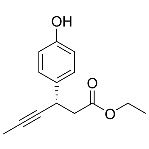 ethyl (3S)-3-(4-hydroxyphenyl)hex-4-ynoate