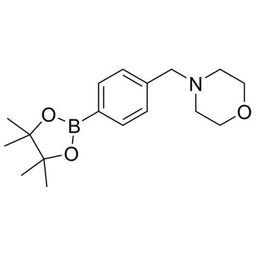 4-[[4-(4,4,5,5-tetramethyl-1,3,2-dioxaborolan-2-yl)phenyl]methyl]-morpholine