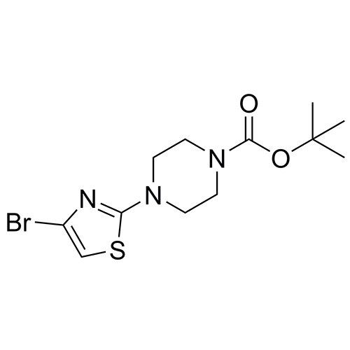 tert-butyl 4-(4-bromo-1,3-thiazol-2-yl)piperazine-1-carboxylate