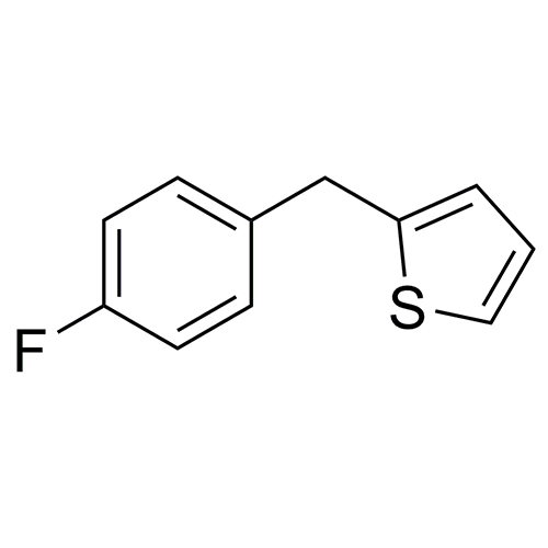 2-[(4-fluorophenyl)methyl]thiophene