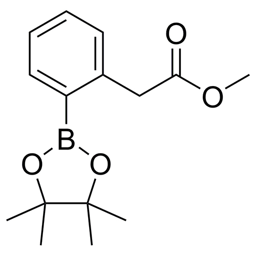 methyl 2-[2-(tetramethyl-1,3,2-dioxaborolan-2-yl)phenyl]acetate