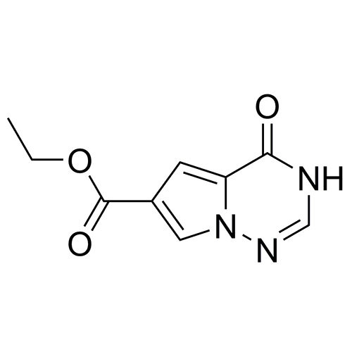 ethyl 4-oxo-3H,4H-pyrrolo[2,1-f][1,2,4]triazine-6-carboxylate