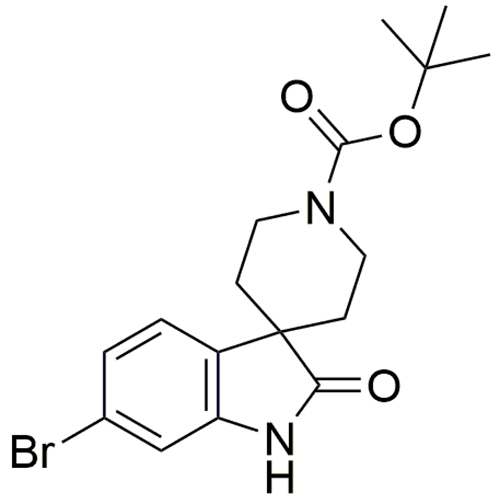 tert-butyl 6-bromo-2-oxo-1,2-dihydrospiro[indole-3,4'-piperidine]-1'-carboxylate