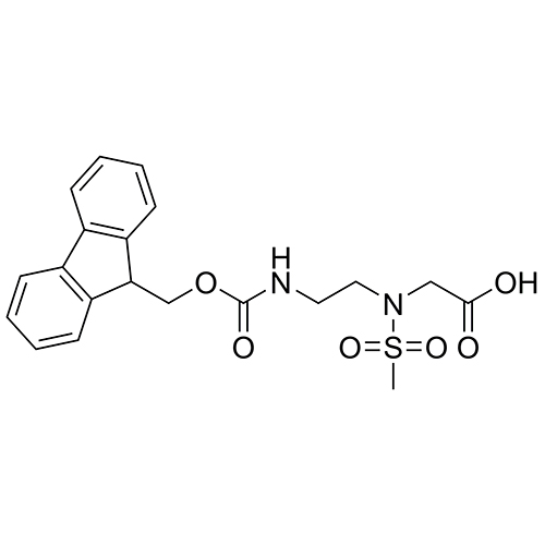 glycine, n-[2-[[(9h-fluoren-9-ylmethoxy)carbonyl]amino]ethyl]-n-(methylsulfonyl)-