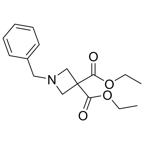 3,3-diethyl 1-benzylazetidine-3,3-dicarboxylate