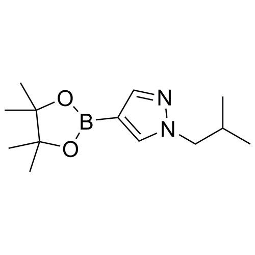 1-(2-methylpropyl)-4-(tetramethyl-1,3,2-dioxaborolan-2-yl)-1H-pyrazole