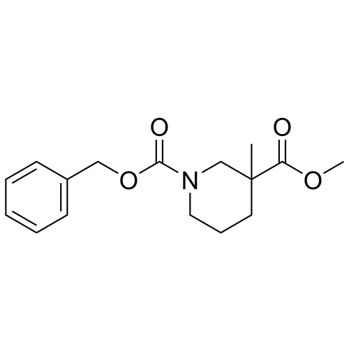 1-benzyl 3-methyl 3-methylpiperidine-1,3-dicarboxylate
