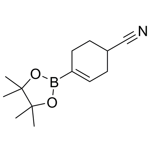 4-(tetramethyl-1,3,2-dioxaborolan-2-yl)cyclohex-3-ene-1-carbonitrile