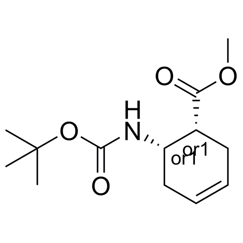 3-cyclohexene-1-carboxylic acid, 6-[[(1,1-dimethylethoxy)carbonyl]amino]-, methyl ester, (1r,6s)-rel-