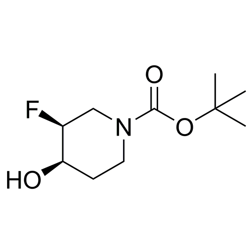 tert-butyl (3S,4R)-3-fluoro-4-hydroxypiperidine-1-carboxylate