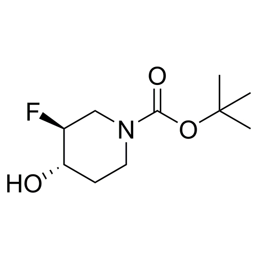 tert-butyl (3S,4S)-3-fluoro-4-hydroxypiperidine-1-carboxylate