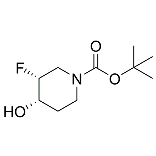 tert-butyl (3R,4S)-3-fluoro-4-hydroxypiperidine-1-carboxylate