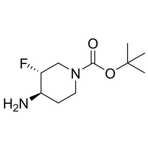 tert-butyl (3R,4R)-4-amino-3-fluoropiperidine-1-carboxylate