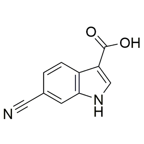 6-cyano-1H-indole-3-carboxylic acid