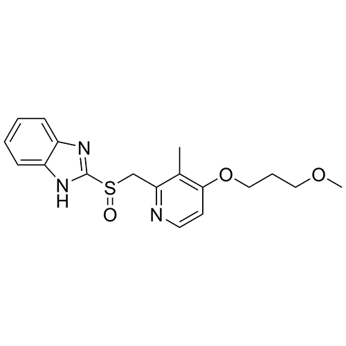 1h-benzimidazole, 2-[[[4-(3-methoxypropoxy)-3-methyl-2-pyridinyl]methyl]sulfinyl]-