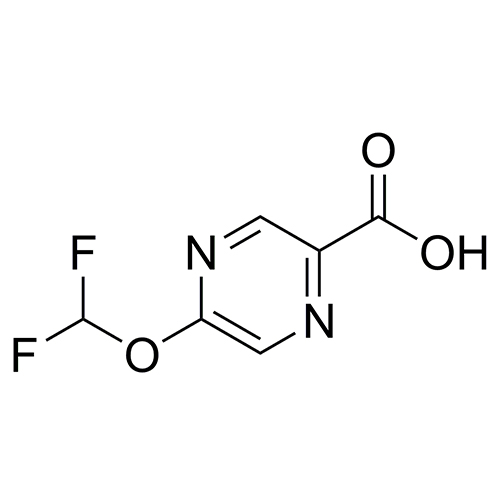 5-(difluoromethoxy)pyrazine-2-carboxylic acid