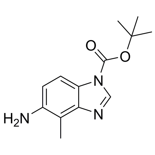 tert-butyl 5-amino-4-methyl-1H-benzo[d]imidazole-1-carboxylate
