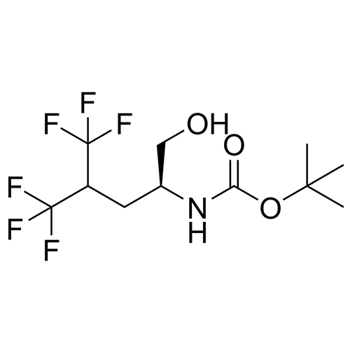 tert-butyl (S)-(5,5,5-trifluoro-1-hydroxy-4-(trifluoromethyl)pentan-2-yl)carbamate