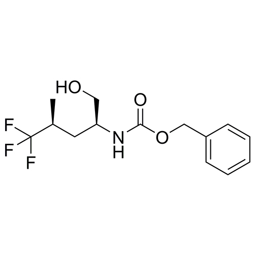 benzyl ((2S,4S)-5,5,5-trifluoro-1-hydroxy-4-methylpentan-2-yl)carbamate