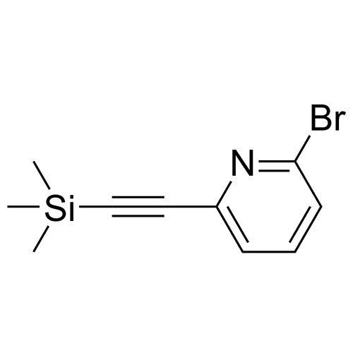 2-bromo-6-((trimethylsilyl)ethynyl)pyridine