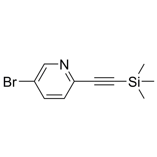 5-bromo-2-((trimethylsilyl)ethynyl)pyridine