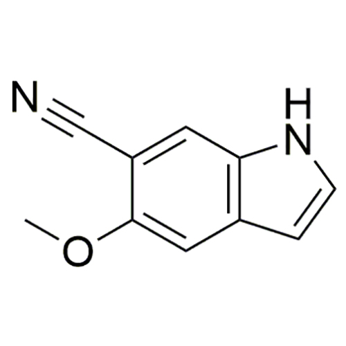 5-methoxy-1H-indole-6-carbonitrile