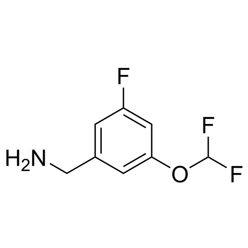 (3-(difluoromethoxy)-5-fluorophenyl)methanamine