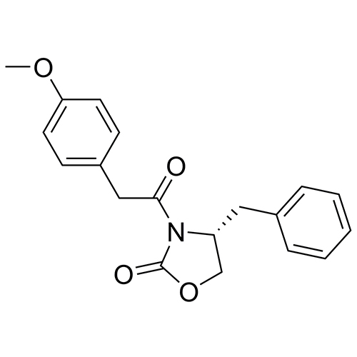 (R)-4-benzyl-3-(2-(4-methoxyphenyl)acetyl)oxazolidin-2-one