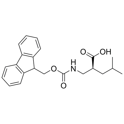 (S)-2-(((((9H-fluoren-9-yl)methoxy)carbonyl)amino)methyl)-4-methylpentanoic acid