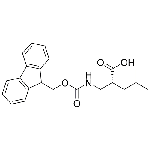 (R)-2-(((((9H-fluoren-9-yl)methoxy)carbonyl)amino)methyl)-4-methylpentanoic acid