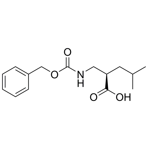 (R)-2-((((benzyloxy)carbonyl)amino)methyl)-4-methylpentanoic acid