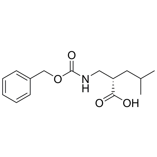 (S)-2-((((benzyloxy)carbonyl)amino)methyl)-4-methylpentanoic acid