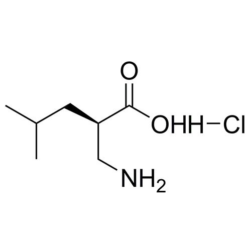 (R)-2-(aminomethyl)-4-methylpentanoic acid hydrochloride