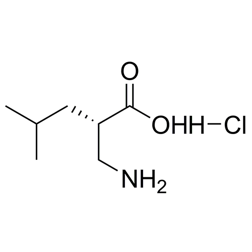 (S)-2-(aminomethyl)-4-methylpentanoic acid hydrochloride