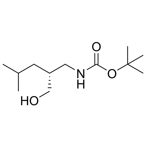 (R)-tert-butyl (2-(hydroxymethyl)-4-methylpentyl)carbamate