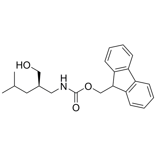 (R)-(9H-fluoren-9-yl)methyl (2-(hydroxymethyl)-4-methylpentyl)carbamate