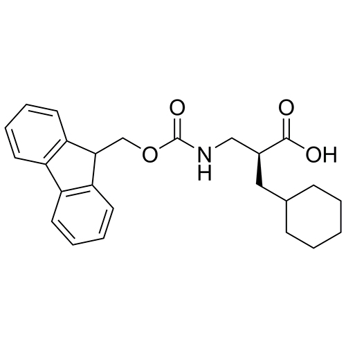 (S)-3-((((9H-fluoren-9-yl)methoxy)carbonyl)amino)-2-(cyclohexylmethyl)propanoic acid
