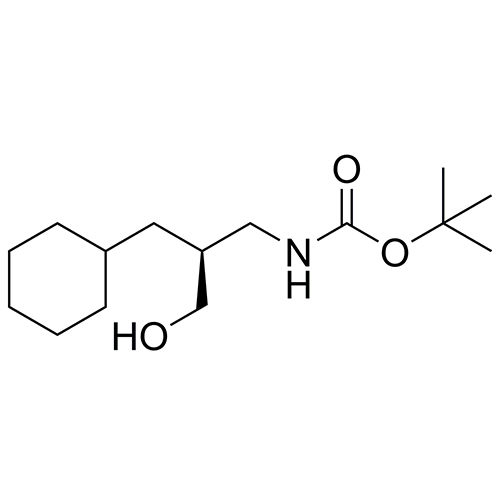 (S)-tert-butyl (3-cyclohexyl-2-(hydroxymethyl)propyl)carbamate