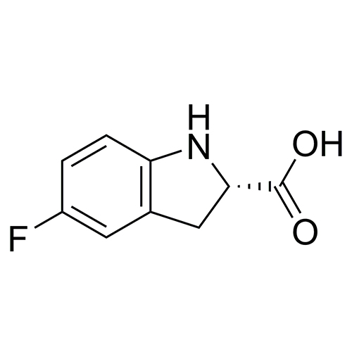 (2S)-5-fluoro-2,3-dihydro-1H-indole-2-carboxylic acid