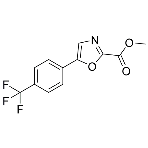 methyl 5-(4-(trifluoromethyl)phenyl)oxazole-2-carboxylate