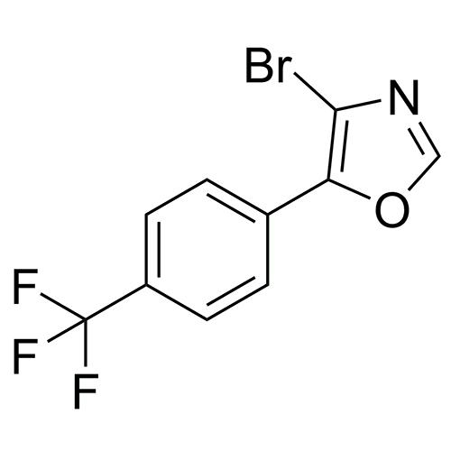 4-bromo-5-[4-(trifluoromethyl)phenyl]oxazole